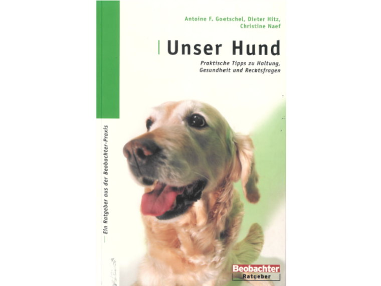 Cover Unser hund quer